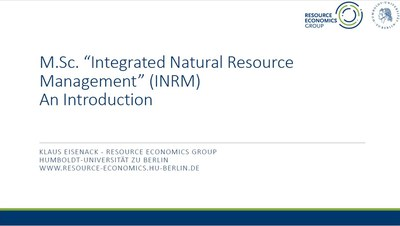 INRM -- An introduction