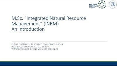 INRM -- An introduction, November 2020